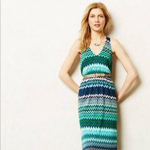 Anthropologie Juxtapose Maxi Dress Size Small